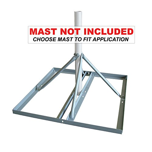Non Penetrating Roof - Solid Signal SKY32816 Non-penetrating Roof Mount Base (SKY32816)