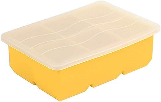 Compra Caja de Hielo del Cubo de Hielo del silicón con la Tapa ...