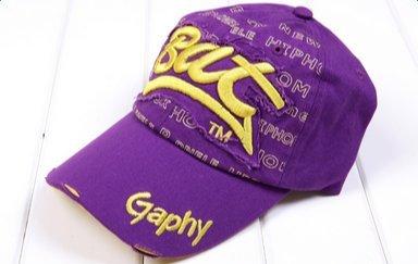 Skyeye Gorra de Béisbol Marea de Color Amarillo Púrpura Bat Carta ...