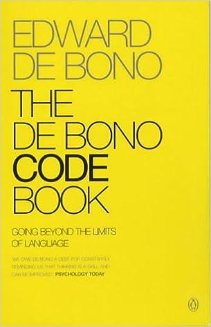 Book The De Bono Code Book