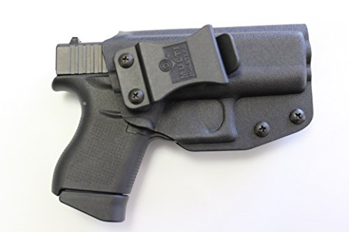 Multi Holsters Elite Glock 43 IWB FOMI Right Hand Holster (Black Calcutta)