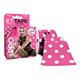 KT Tape Pro Extreme Therapeutic Elastic Kinesiology Sports Tape, 20 Pre Cut 10 inch Strips, 100% Synthetic Water Resistant Breathable, Pro & Olympic Choice
