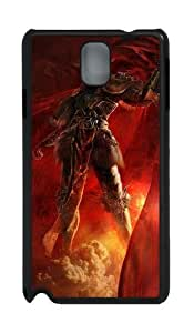 3D Angry Soldiers PC Case and Cover for Samsung Galaxy Note 3 Note III N9000 Black