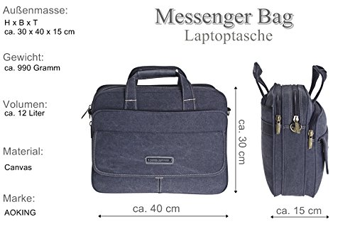 nbsp;Inch Laptop To Bag College Bag Bag Folder Up Messenger Files 15 olive Bag Bag Men's Documents wqnaarF0x