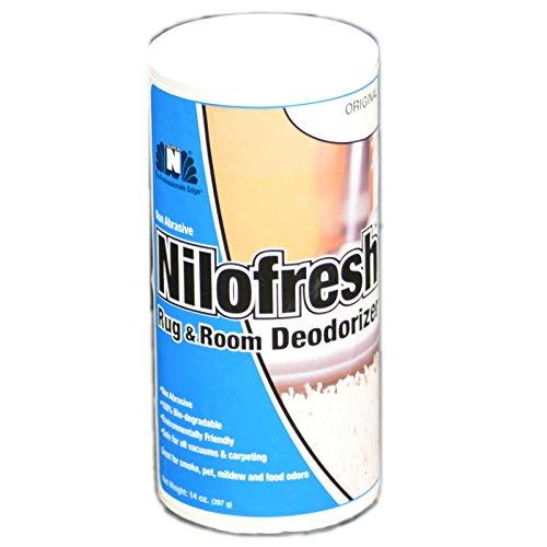 Top Vacuum Parts Nilofresh Rug and Room Odor Neutralizer Original Scent 14 oz ()