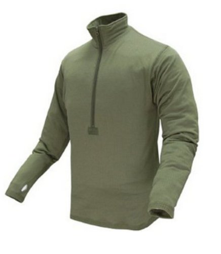 Condor BASE II Zip Pullover (Large, Olive (Tan Olive Drab)