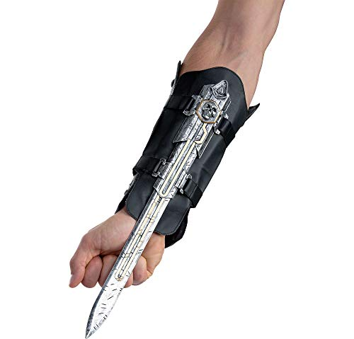 AFG MEDIA LTD Assassin's Creed Edward Hidden Blade Halloween Costume Accessory for Adults, 5