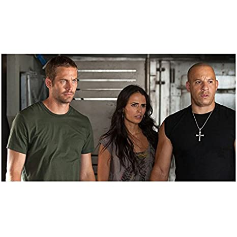 0798d377c4 Image Unavailable. Image not available for. Color  Fast Five (2011) 8x10  Photo Jordana Brewster Grey Tee Vin Diesel ...