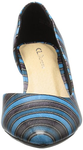 Pumps Gestreift Damen CL Laundry Blau by Chinese wfxwYtqSI