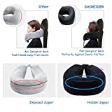 SAIREIDER Travel Neck Pillow for Airplane Sleeping