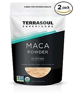 Terrasoul Superfoods Organic Gelatinized Maca Powder, 2 Pounds