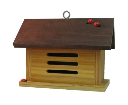 Nature Gift Store Ladybug House-Barn Shaped-Hand-Made in Wisconsin