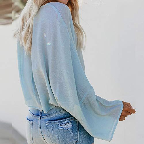 heißer Verkauf 2019 TianWlio Langarmshirt Damen Bluse T