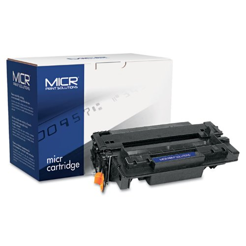 (MICR Print Solutions 55XM Compatible with CE255XM MICR High-Yield Toner, 12,500 Page-Yield, Black)