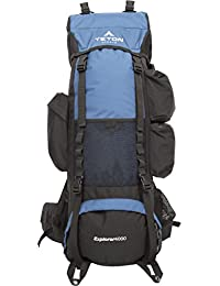 TETON Sports Explorer 4000 Internal Frame Backpack; Free Rain Cover Included