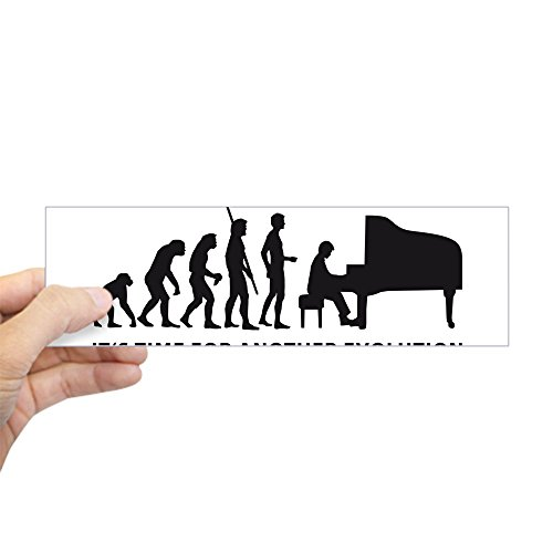 CafePress evolution Sticker Bumper Rectangle