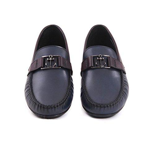 Herren Designer Mokassins Sommerschuh Halbschuh Slipper Loafer, Mokassin Flach Herrenschuh Elegant Sportlich Leder Echtleder Lederschuh Premium