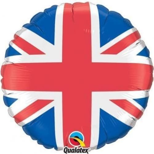 Qualatex Union Jack 18 Inch Foil Balloon]()