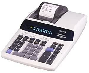 Amazon Com Casio Dr T220 Desktop Calculator With Thermal
