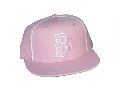 Boston Red Sox Fitted Size 7 7/8 Pink Hat Cap - Cooperstown Collection