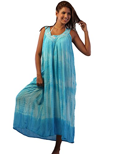 Ingear Umbrella Dress Batik Caftan Tank Dress Cover Up Em...