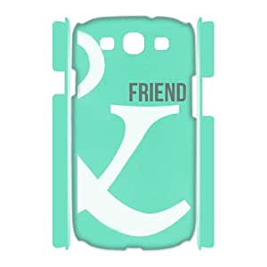 WINDFC BFF Symbol Mild One Wild One Pineapple Best Friend Matching Phone 3D Case For Samsung Galaxy S3 I9300 [Pattern-2]