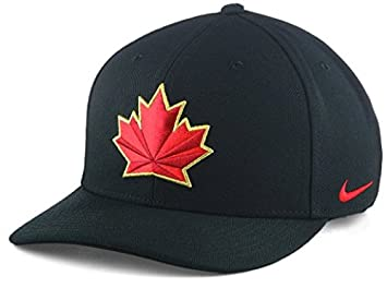 3b054ede2e3c 2018 Team Canada Hockey Nike IIHF Olympics Dri-Fit Wool Classic Adjustable  Cap Hat Black, Baseball Caps - Amazon Canada