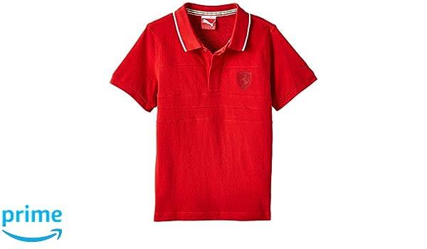 PUMA Shirt Ferrari Polo - Polo para niño: Amazon.es: Ropa y accesorios