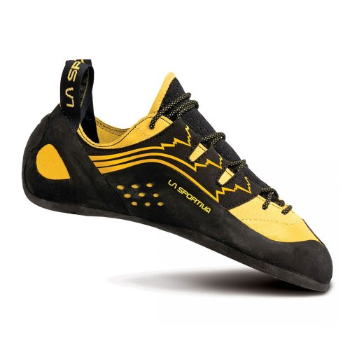 La Sportiva Scarpe da Arrampicata Katana Laces Black/Yellow