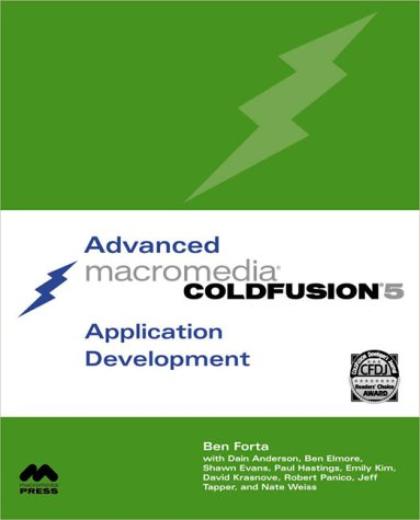 Advanced Macromedia ColdFusion 5 Application Development (2nd Edition) by Brand: Pearson Education