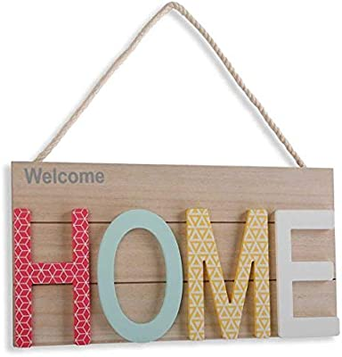 Versa Cartel Welcome Home, Aplica: Amazon.es: Hogar