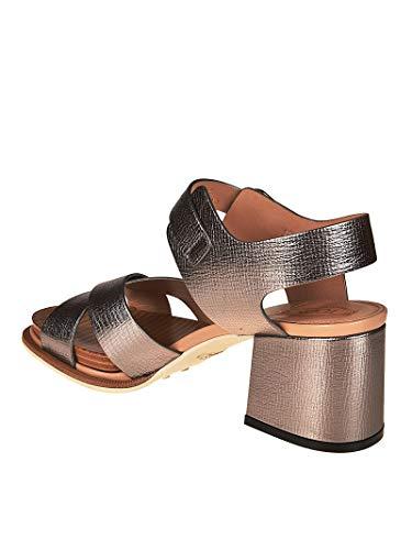 Mujer Xxw19a0y510hesb201 Zapatos Cuero Plata Tod's q6x7dq