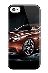 DebAA Case Cover For Iphone 4/4s - Retailer Packaging Aston Martin Vanquish 11 Protective Case
