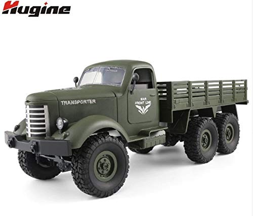 ★日本未発売★RCモンスタートラック トラクター 2.4g トレーラー 米軍 オフロード 6WD 戦術 ラジコン おもちゃ 輸入品 B07PCRRKF6