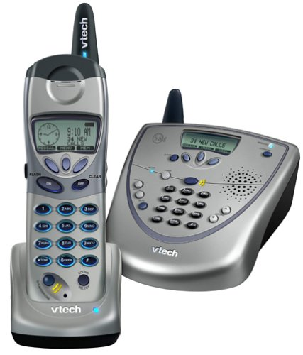 VTech 5831 5.8 GHz DSS Expandable Cordless Speakerphone with Caller ID/Call - Ghz Cordless 5.8 Speakerphone