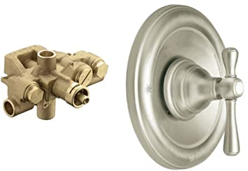 moen t3111bn 3520 kingsley moentrol valve trim kit with valve