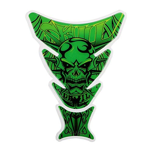 Daphot-Store - Skull Moto Stickers 3D Motorcycle Decal Funny Decoration Car Sticker Motorcycle Accessories Fuel Tank Pad Protector Universal from Daphot★Store