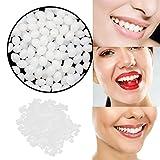 Denture Solid Glue, Temporary Tooth Repair Kit Teeth And Gaps FalseTeeth Solid Glue Denture Ad, Temporary Tooth Repair Kit Teeth And Gaps FalseTeeth Solid Glue Denture Adhesive Solid Glue (White --5g)
