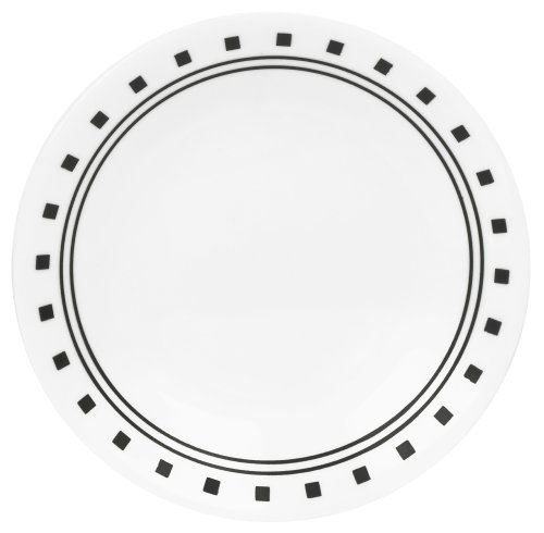 Corelle Livingware 6-3/4-Inch Bread and Butter Plate, City - Bread Butter Corelle Plate