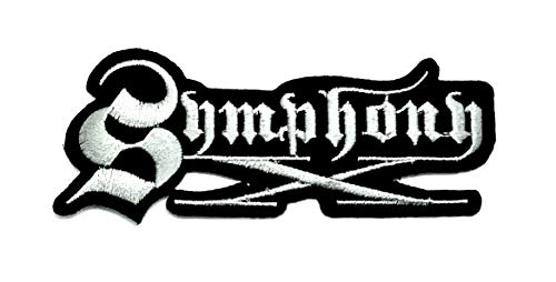 Aruno maison Symphony X 2 Rock Band Punk DIY Iron Sew On Embroidered Patch for Denim Jacket Vest Cap