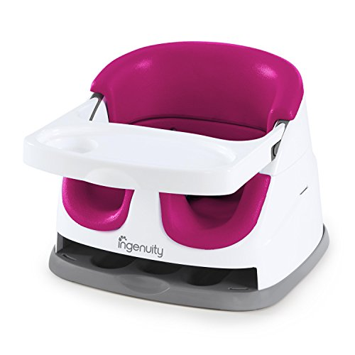 Ingenuity Baby Base 2-in-1 Seat - Pink Flambé - Booster Feeding Seat