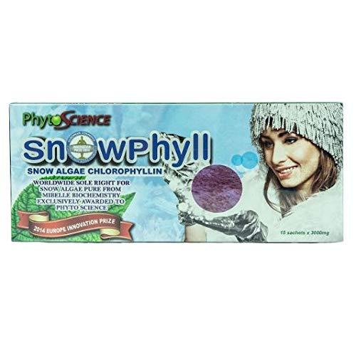 30 x Phytoscience Snowphyll - Snow Algae Chlorophyll (15 Sachet Per Box)