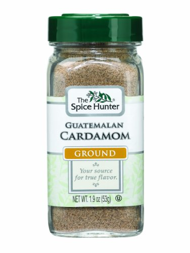 The Spice Hunter Guatemalan Cardamom, Ground, 1.9-Ounce Jars (Pack of 3)