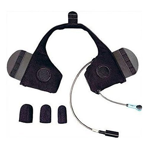 J&M Elite 787 Series Integrated Headset for Shorty-Style (1/2) Helmets - One Size