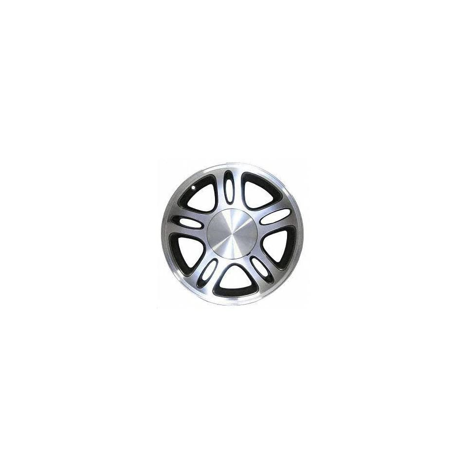 96 98 FORD MUSTANG ALLOY WHEEL (PASSENGER SIDE) = (DRIVER RIM 17 INCH, Diameter Width 8 (5 DOUBLE SPOKE) MACHINED FACE. CHARCOAL GREY VENTS 1 Piece Only (1996 96 1997 97 1998 98) ALY03174U30N