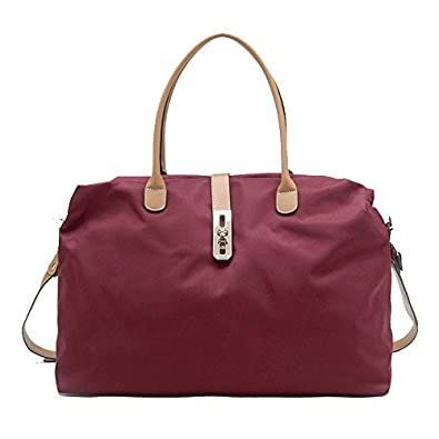 Oversized Tosca Tote Handbag (Burgundy): Handbags: Amazon.com