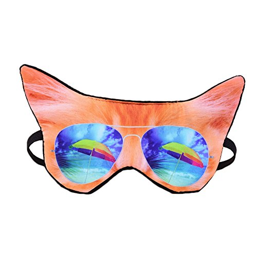 HXINFU Animal Eye Mask For Sleeping Cat Sleep Mask For Kids Anime Blinders For Sleeping