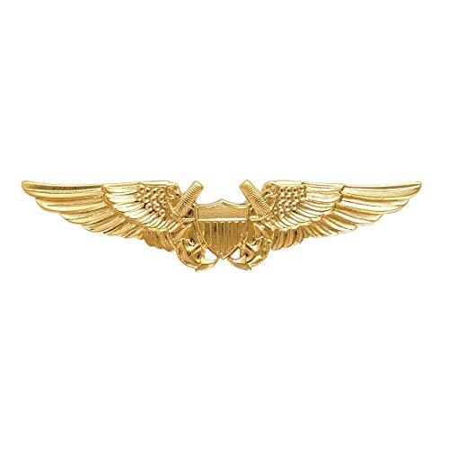 Medals of America Navy Badge Naval Flight Officer Regulation - Badge Naval