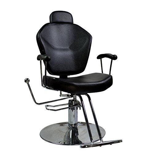 Classic All Purpose Hydraulic Recline Barber Chairs Salon Beauty Spa Shampoo,Luxury