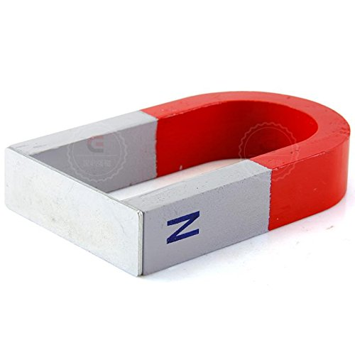 AOMAG Alnico U100x62x20mm Magnet Kit for Education Science Experiment Horseshoe & Magnets ()